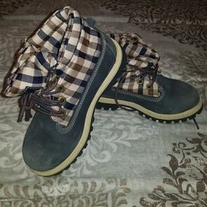 Boys Timberland Rolltop Boots